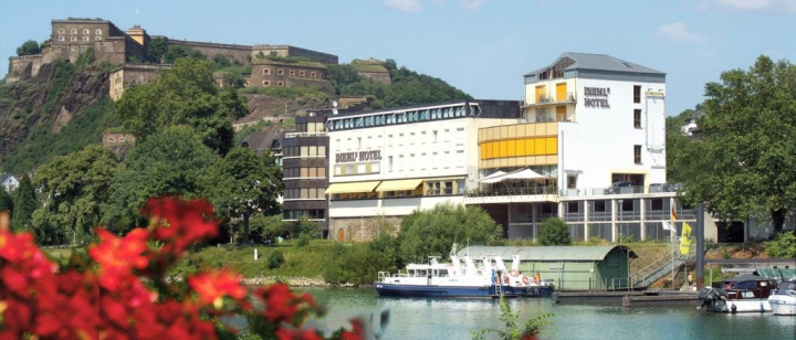 Hotelreview: Diehl's Hotel in Koblenz (*4Sterne)