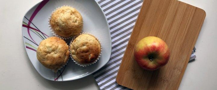 Rezept: Apfel-Quark-Muffins