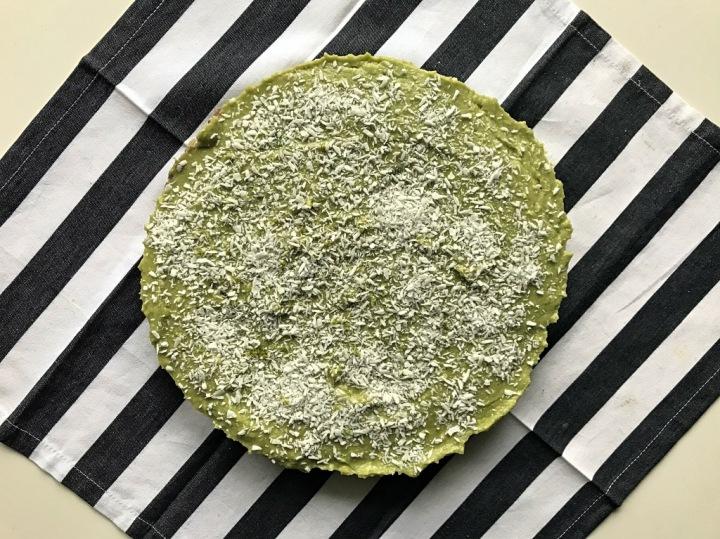 Rezept: No-Bake Avocado-Limetten-Tarte